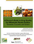 download A Farmer's Guide to Crop Quality for Wholesale Outlets in pdf format
