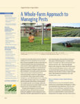 Image of the cover of A Whole Farm Approach to Managing Pests